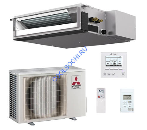 Кондиционер mitsubishi electric канальный