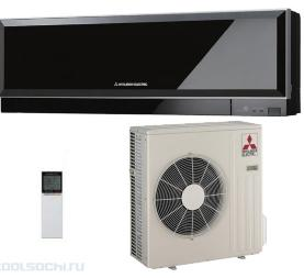 Настенный кондиционер Mitsubishi Electric MSZ-EF50VE3B(black)/MUZ-EF50VE